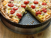 Quiche tomates cherry mozzarella