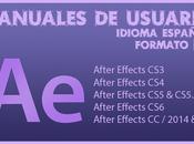 Manuales After Effects CS3, CS4, CS5, Español