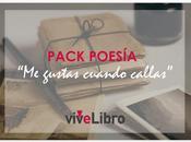 Celebra viveLibro #MesDeLaPoesía nuestro nuevo #PackPoesía