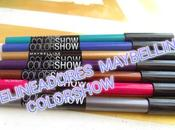 Delineadores maybelline colorshow