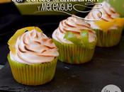 Cupcakes lima-limon merengue meringue, lime lemon cupcakes