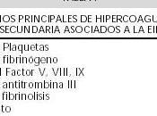 Trastornos coagulación asociados Enfermedades Inflamatorias Intestinales
