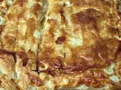 Empanada restos cocido