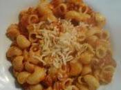 Pasta tomate chorizo