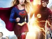 Afiche crossover entre series Supergirl Flash