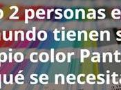 Sólo personas mundo tienen propio color Pantone ¿qué necesita para lograrlo?