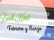 Blog Book Haul: Febrero, Marzo