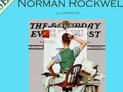 SERIES Norman Rockwell Deadline (Artist Facing Blank Canvas)