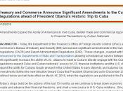 Autorizados viajes personales turísticos Cuba dólar transacciones