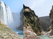 seca Cascada Tamul, alta Luis Potosí