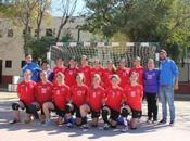 Balonmano Montequinto clasifica para CADEBA infantil femenino