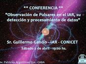 Observación pulsares IAR, detección procesamiento datos