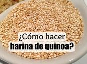 Cómo hacer harina quinoa casa