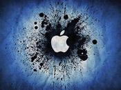 manzana Apple tiene mordiscos.