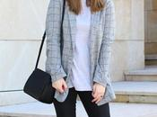 Outfit casual primavera gris