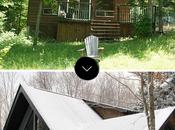 Antes/después: increíble transformación cabaña canadá