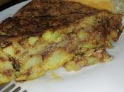 Tortilla patatas morcilla Ronda
