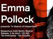Concierto Emma Pollock Madrid, Estrella Galicia