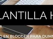 Crear blog Blogger para Dummies: plantilla HTML, conceptos.