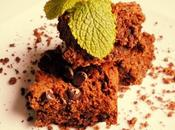 Brownie vegano gluten