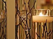 Centros mesa velas flotantes