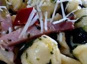 Pasta achicoria verde Orecchiette jamón cicoria speck