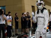 Hamilton muestra emocionado tras haber logrado Pole Position Bahrein 2016
