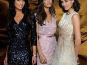 Pilar Rubio, Sara Carbonero Marta Fernández, guapas brillantes para Tele Analizamos look