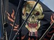 Éste aspecto bandera Barbanegra 'Piratas Caribe mareas misteriosas'