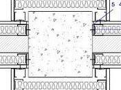 Detalles encuentros pilares elementos verticales separación