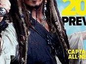 Johnny Depp como capitán Jack Sparrow portada Empire