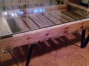 Mesa para salón palets