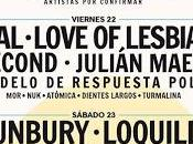 música Cádiz Bunbury, Loquillo, Love Lesbian, Second, Izal, Molotov, Elefantes...