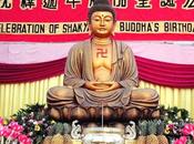 Feliz cumpleaños, iluminación muerte, querido Buda