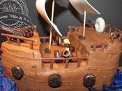 Tarta Barco Pirata. Para Príncipe Casa