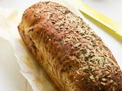 Garlic, herbs cheese bread #BreadBakers