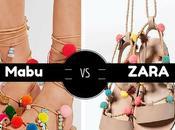 Parecidos razonables:Zara trae sandalias moda para peques