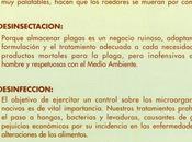 Tratamientos DDD: Desinsectación, Desratización Desinfección Almería