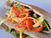 Sándwich verduras