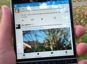 Twitter para BlackBerry actualiza añadiendo nuevas características