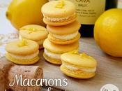 Macarons cava limon lemon champagne macarons
