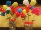Flores botellas plástico