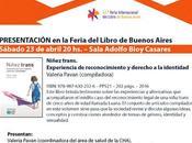 presentará nuevo libro Feria Libro Buenos Aires