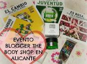 Evento Blogger Body Shop Alicante