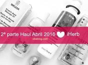 Parte Haul Abril 2016 iHerb