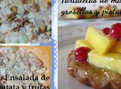 Tartaletas mango, grosellas pistachos (Colaboraciones Siempredulces) Idea para Madre