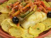 """Receta bacalao Braga (""""bacalhau Braga""""). Cocina portuguesa"""
