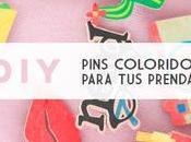 DIY: Pins personalizados para prendas