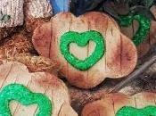 Galletas efecto madera musgo