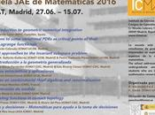 Abierta convocatoria para Escuela Matemáticas 2016 ICMAT